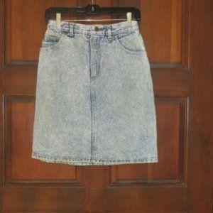 Blue Denim Skirt Size 8 FORENZA